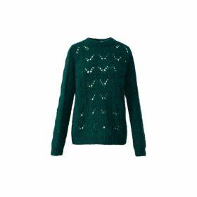 Gerard Darel Openwork Knit Sophie Sweater