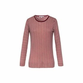 Gerard Darel Light Wool Polka Dot Samantha Sweater