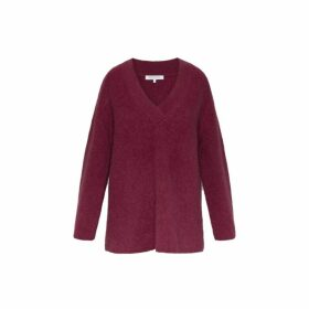 Gerard Darel Oversized Mohair-blend Shade Sweater