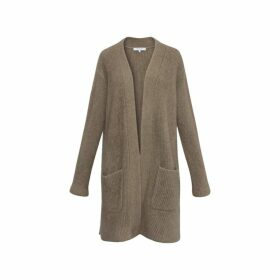 Gerard Darel Oversized Wool And Raccoon Shae Cardigan