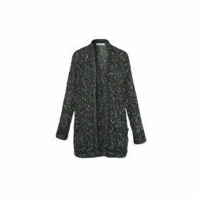 Gerard Darel Oversized Saya Cardigan In Multi-colored Knit