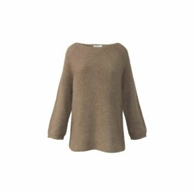 Gerard Darel Raccoon And Wool Sienna Sweater