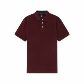 Hackett Tonal Cotton Short-sleeved Polo Shirt