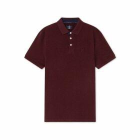 Hackett Tonal Cotton Short-sleeved Polo Shirt
