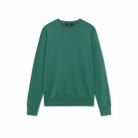 Hackett Cotton And Silk Crew Neck Sweater