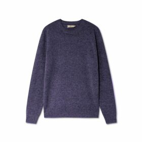 Hackett Wool Linen And Cashmere Crew Neck Sweater