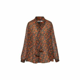 Gerard Darel Loose-fitting Shirt With Bow