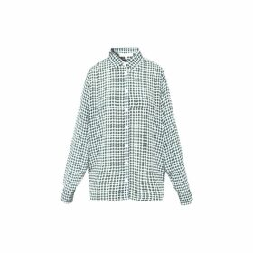 Gerard Darel Silk Polka Dot Maya Shirt