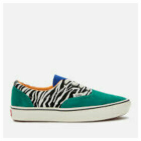 Vans ComfyCush Era Zebra Print Trainers - Tidepool/Surf The Web - UK 9 - Green/Multi