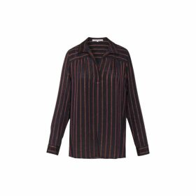 Gerard Darel Striped Morgan Blouse