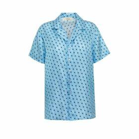 Lisou Victoire Unisex Silk Shooting Star Print Shirt