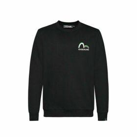 Evisu Contour Line Kamon Print Sweatshirt