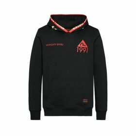 Evisu Hooded Sweatshirt With Godhead Print