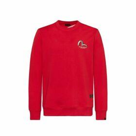 Evisu Sweatshirt With The Evisu Giant And Kamon Badges Daicock