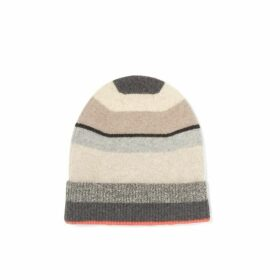 Jigsaw Stripe Block Cashmere Hat