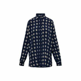 Gerard Darel Loose-fitting Silk Shirt