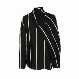 Noon By Noor Westport Drape Long Sleeve Top