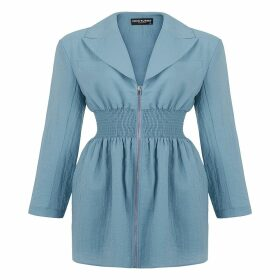 Me & Thee - Cha Cha Midnight Blue Velvet Top