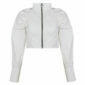 Mirimalist - Palm Jacket White