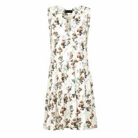 Mirimalist - Wrap Striped Skirt