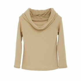 Doyi Park - Cowl Off Shoulder Knit Top O