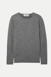 Cefinn - Freda Mélange Wool Sweater - Gray
