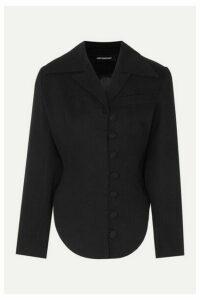 Lado Bokuchava - Cotton-twill Blazer - Black