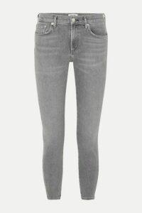 AGOLDE - Toni Mid-rise Straight-leg Jeans - Gray