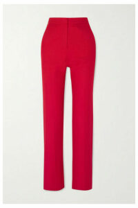 Lado Bokuchava - Cotton-twill Straight-leg Pants - Red