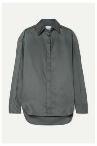 Deveaux - Roden Tencel Shirt - Gray