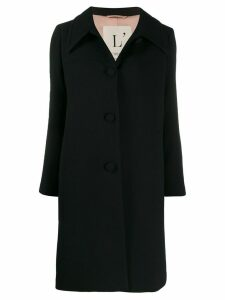 L'Autre Chose single-breasted coat - Black