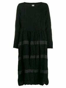 Kristensen Du Nord striped midi dress - Black