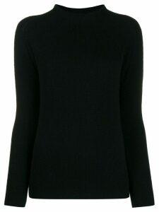 Kristensen Du Nord mock-neck cashmere jumper - Black