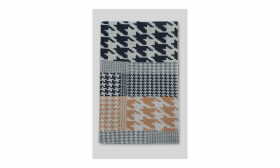 Green Thomas Houndstooth Scarf