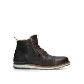 Aldo Legirelian Casual Shrl Bt - Dark Brown Lace Up Ankle Boots