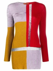 Missoni knitted glittered jumper - Yellow