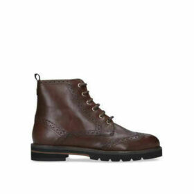 Carvela Shock - Brown Brogue Style Ankle Boots