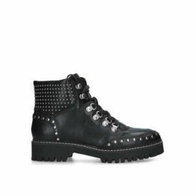 Carvela Toughest - Black Studded Hiker Boots