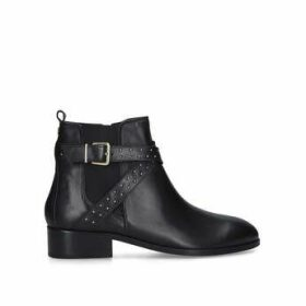 Carvela Truth - Black Studded Block Heel Chelsea Boots