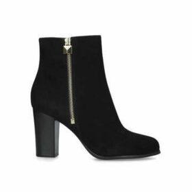 Michael Michael Kors Frenchie Platform Bootie - Black Block Heel Ankle Boots