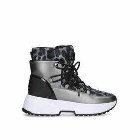 Michael Michael Kors Cassia Bootie - Metallic Leopard Print Snow Boots