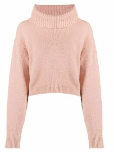 Semicouture roll-neck sweater - Pink