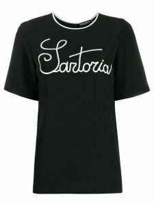 Dolce & Gabbana sartorial embroidery T-shirt - Black