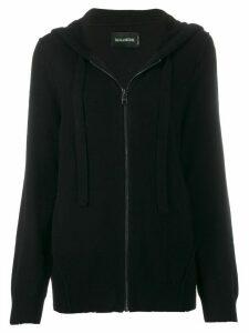 Zadig & Voltaire cashmere drawstring hoodie - Black