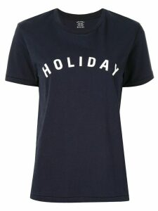 Holiday Boileau logo T-shirt - Blue