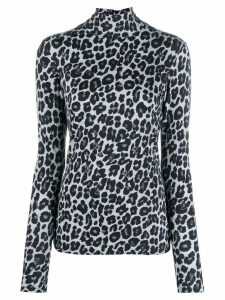 Paul Smith leopard print sweater - White