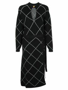 Proenza Schouler Wrap Dress - Black