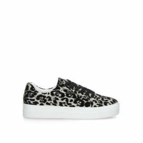 Aldo Lovireclya - Leopard Print Lace Up Trainers