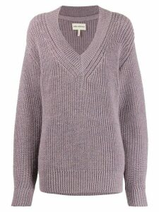 Mara Hoffman Revel oversized jumper - PURPLE
