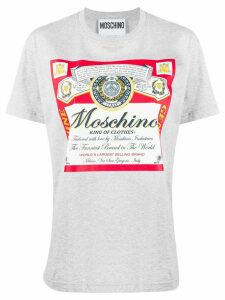 Moschino printed T-shirt - Grey